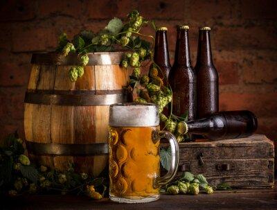 Fototapeta Sklenice piva