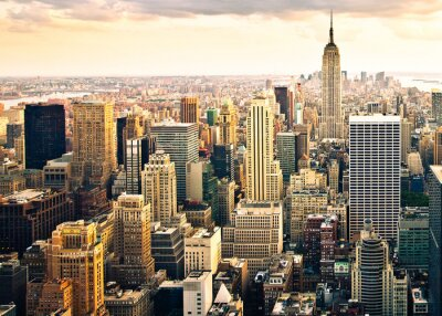 Fototapeta Skyline z New Yorku