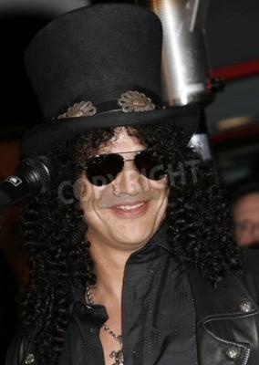 Fototapeta Slash, Ronnie James Dio a Terry Bozzio přivedli na hollywoodský RockWalk, který se konal 17. ledna 2007 na Hollywoodském kytarovém centru RockWalk v americkém Hollywoodu.