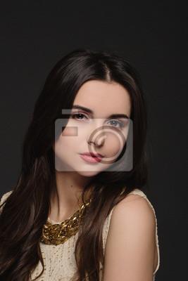 Brunetka nahé model
