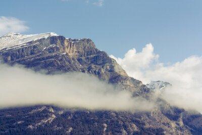 Fototapeta Snow Capped Mountain Grotto