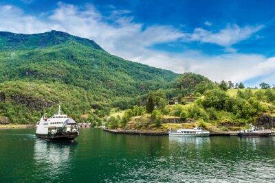 Fototapeta Sognefjord v Norsku