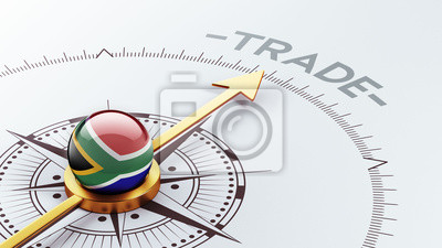 South Africa Trade Concept