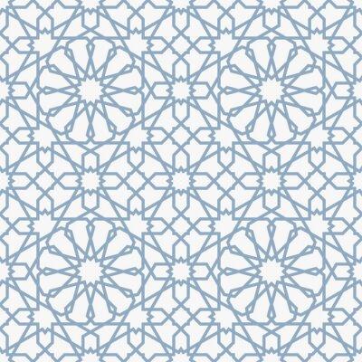 Fototapeta Souvislosti s bezproblémové vzorek v islámském stylu