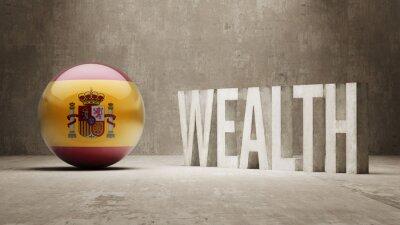 Španělsko. Bohatství Concept.