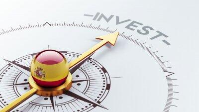 Španělsko Invest koncept.