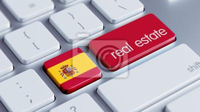 Španělsko Real Estate Concept