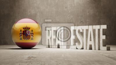 Španělsko. Real Estate Concept.
