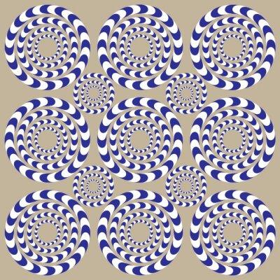 Fototapeta Spin kruhy (Illusion)