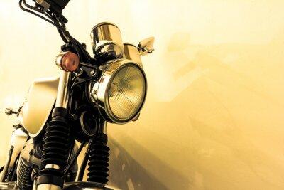 Fototapeta Split toning  vintage Motorcycle