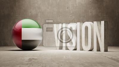 Spojené Arabské Emiráty. Vision Concept.