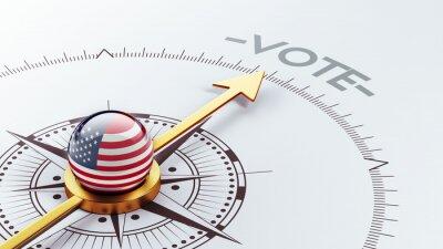 Spojené státy americké Hlasovat Concept