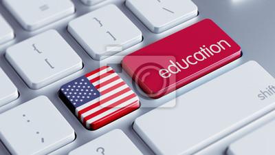 Spojené státy americké koncepce vzdělávání