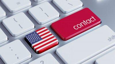 Spojené státy americké Kontaktní Concept