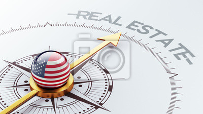 Spojené státy americké Real Estate Concept