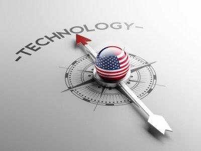 Spojené státy americké Technology Concept