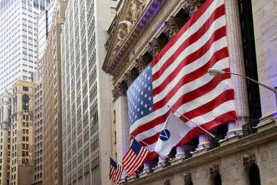 Fototapeta Spojené státy americké vlajky