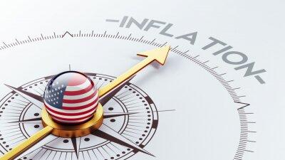 Spojené státy Concept inflace.