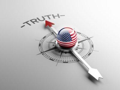 Spojené státy Pravda Concept