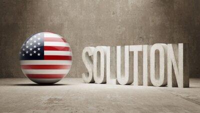 Spojené Státy. Solution Concept.