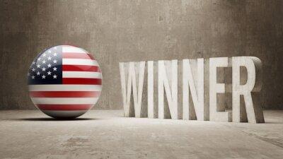 Spojené Státy. Vítěz Concept.