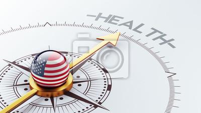 Spojené státy Zdraví Concept