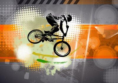 Fototapeta Sport, BMX ilustrační