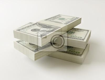 Stack 100 dolarů účty