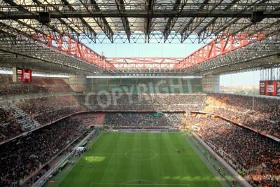 Fototapeta Stadion San Siro v průběhu AC Milán fotbalového zápasu