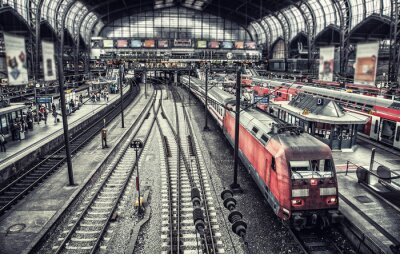 Fototapeta stanice