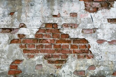 Fototapeta Stará Cegła - ściana, mur
