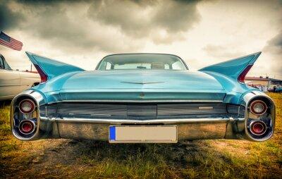 Fototapeta Staré americké auto v stylu vintage