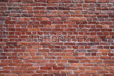 Fototapeta staré červené cihlové zdi textury pozadí
