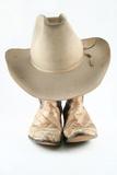 Dva nosí slaměné klobouky kovbojové boční vies fototapeta ... ae41ce1074
