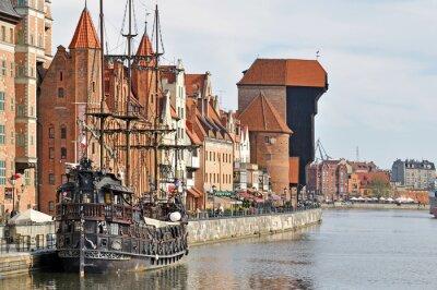 Fototapeta Staré město Gdaňsk