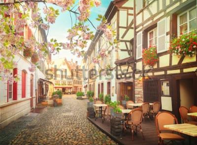 Fototapeta staré město ve Štrasburku ve Francii