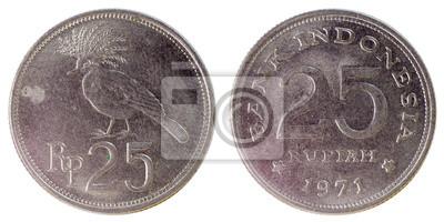 cf2a70e24 Staré vzácné mince z indonésie fototapeta • fototapety Indonésan ...