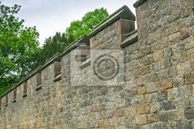 Fototapeta Starobylé hradby opevnění
