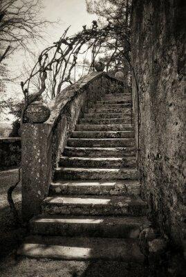 Fototapeta Starověké schodiště