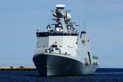 Fototapeta Statek w Gdyni