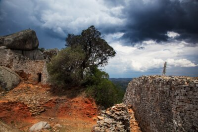 Fototapeta Storm, Great Zimbabwe