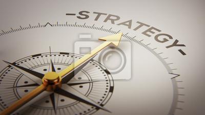Strategie Concept
