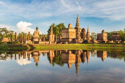 Fototapeta Sukothai historický park, Thajsko