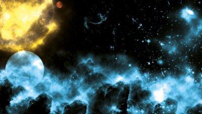Fototapeta Sun / Galaxy Spacefog