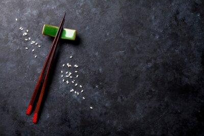 Fototapeta sushi hůlky