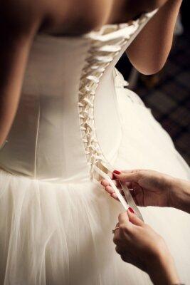 Fototapeta Svatební šaty