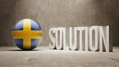 Švédsku. Solution Concept.