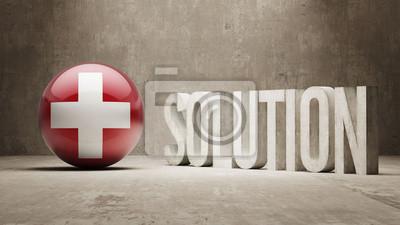 Švýcarsko. Solution Concept.