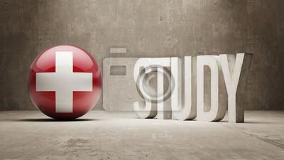 Švýcarsko. Studie Concept.