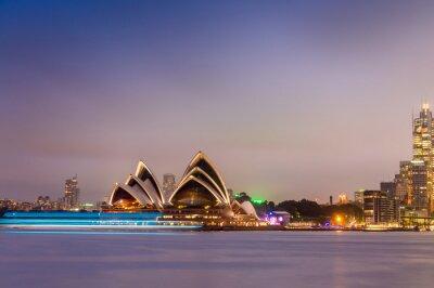 Fototapeta SYDNEY - 12.10.2015: kultovní Sydney Opera House je mu